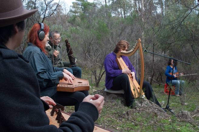 Tuning up in the JaaraJaara box -ironbark  forest for November 3rd event